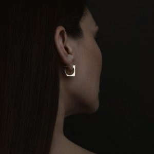 VESPERTINE SQUARE EARRINGS