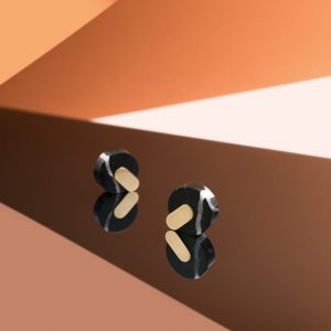 ADAMANTINE EARRINGS NERO