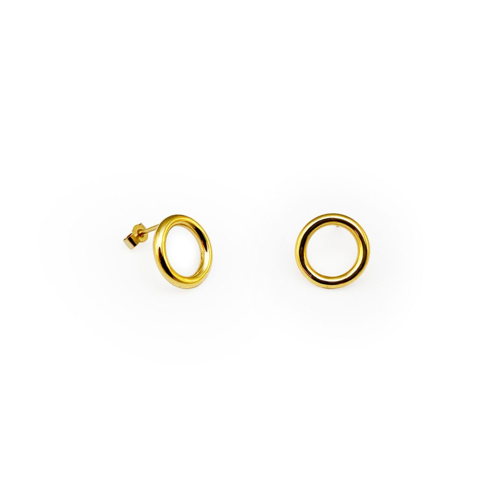 LOOP GOLDEN EARRINGS