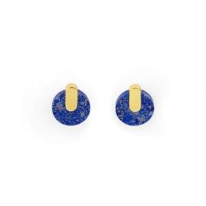 ADAMANTINE EARRINGS LAPIS