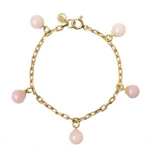 GUILTY PLEASURES GOLD FIVE BALL BRACELET