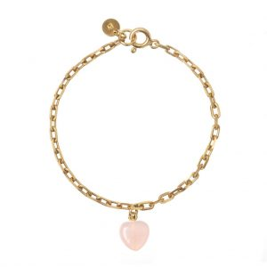 GUILTY PLEASURES GOLD HEART BRACELET