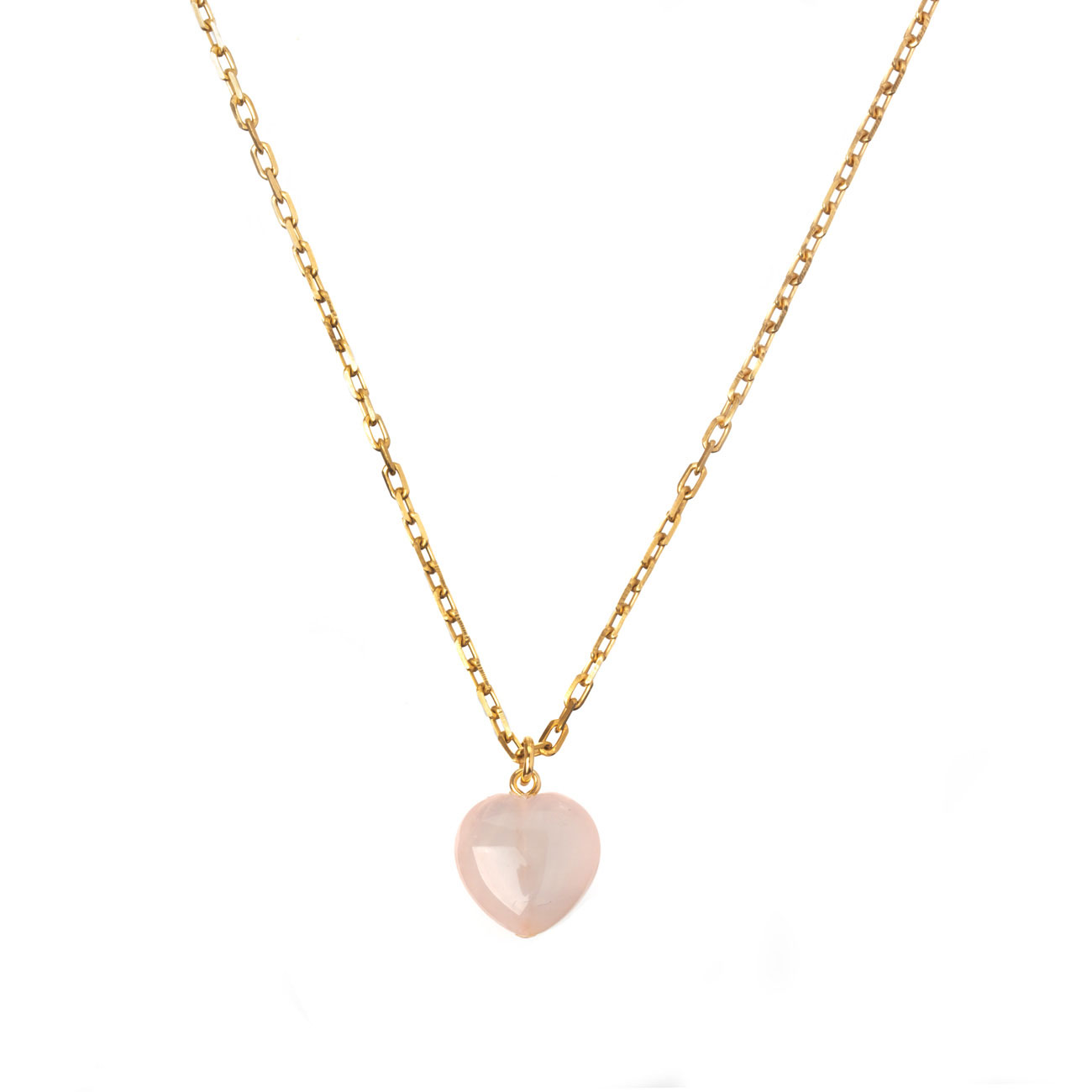 GUILTY PLEASURES BIG GOLD HEART NECKLACE