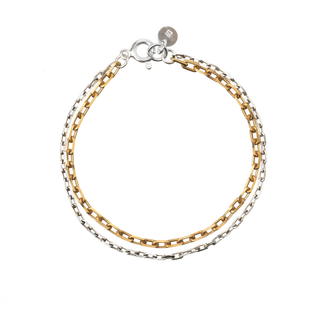 GUILTY PLEASURES DOUBLE CHAIN BRACELET