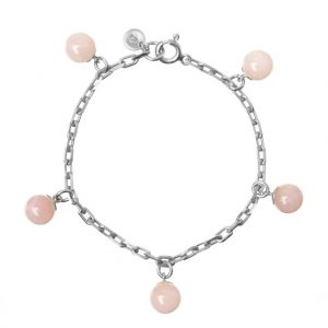 GUILTY PLEASURES SILVER FIVE BALL BRACELET