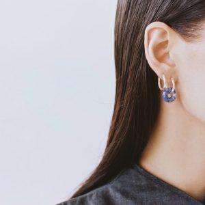 RELOOP SODALITE EARRINGS